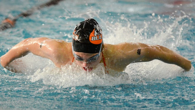 Senior Lillie Hosack of Cedarburg is going for her third straight state title in the 200 IM this weekend in Madison.