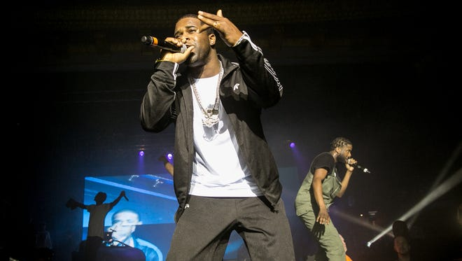 A$AP Ferg of A$AP Mob performs at a sold-out Eagles Ballroom at the Rave last October. Ferg was scheduled to headline his own show Saturday at the Rave, but his tour has been delayed; he'll not perform at the venue July 19.
