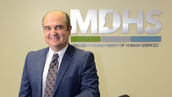 Mississippi Department of Human Services Executive Director John Davis