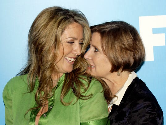 Joely Fisher on half-sister Carrie's death: 'We lost our hero'
