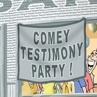 Pass the popcorn! Comey's testifying!