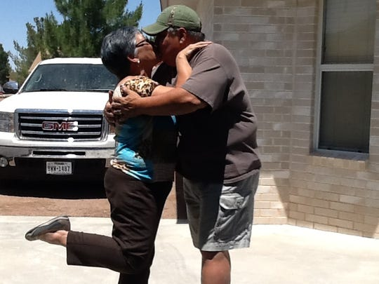 """This photo was submitted by Rosa Sanchez, """"40 years of ups and downs but real love survives!!❤"""""""