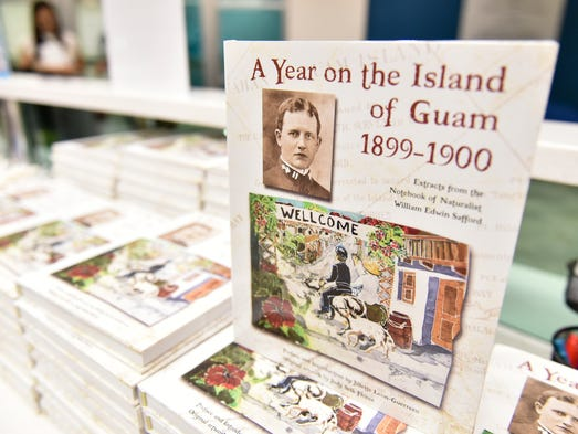"A book launch of ""A Year on the Island of Guam, 1899-1900,"""