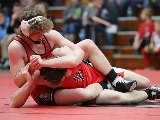 Wisconsin Rapids senior Brock Benitz and six other