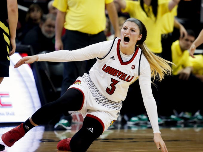 Louisville's Sam Fuehring is furious after a second