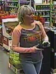 Suspect in Lowe's theft.