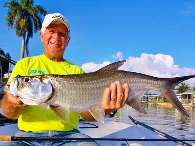 Carl Schroeder had been trying to catch a tarpon for