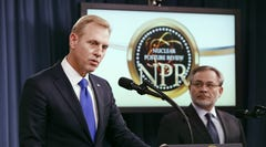 Deputy Defense Secretary Patrick Shanahan and Deputy