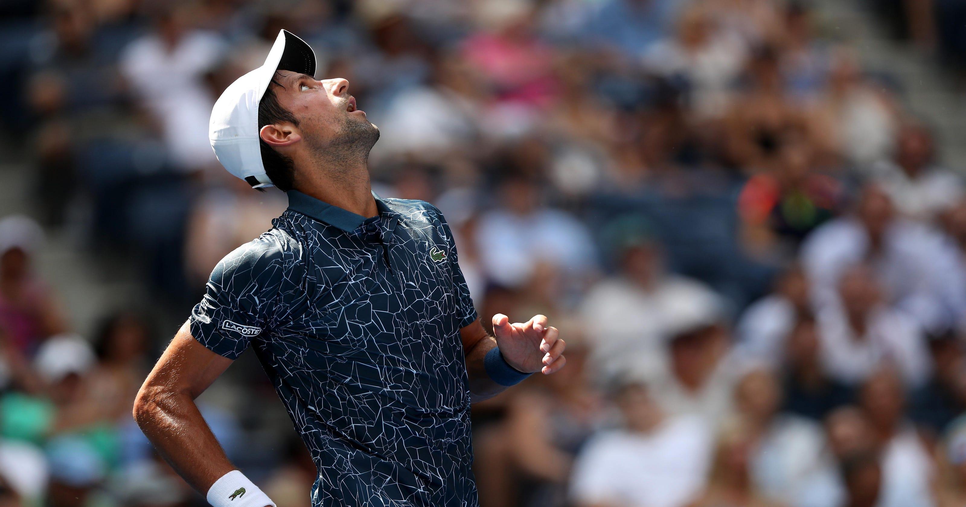 3c40ed2c3a7d6 Djokovic in  survival mode  at U.S. Open  Federer wins