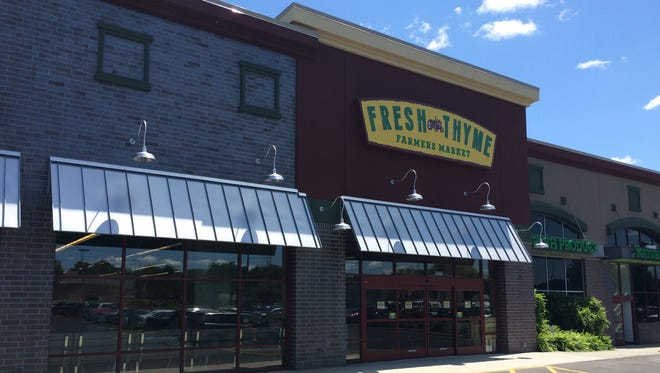 Fresh thyme Farmers Market is opening three metro Detroit stores including this one in Rochester Hills.