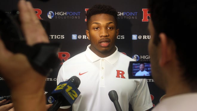Rutgers linebacker Solomon Manning graduated Colonia High School early to get a jumpstart on grueling offseason training in college.
