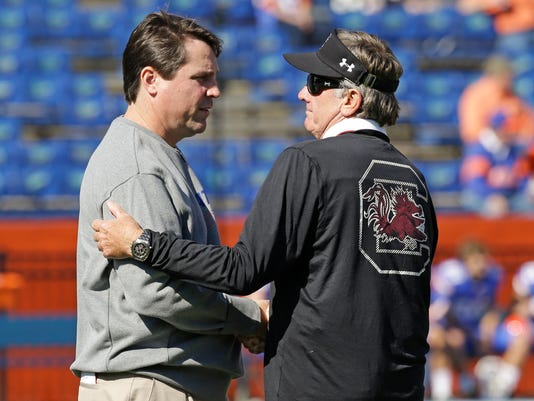 Will Muschamp, Steve Spurrier