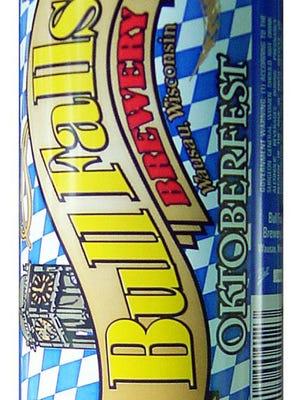 Bull Falls Oktoberfest, from Bull Falls Brewery in Wausau, Wis., is 5.2% ABV.