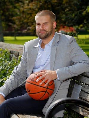 Chris Burns, assistant men's basketball coach at Bryant University.