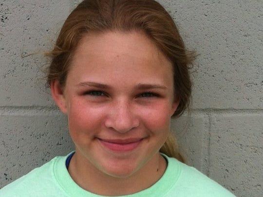 Hailey McDavid Randolph Southern Freshman Hit .444