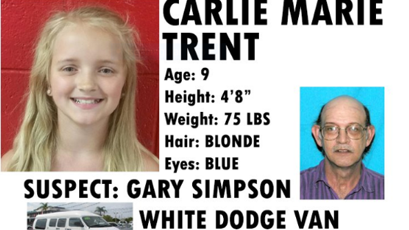 An Amber Alert was issued May 5, 2016, for Carlie Marie