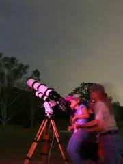 Star gazing in Agoura Hills.