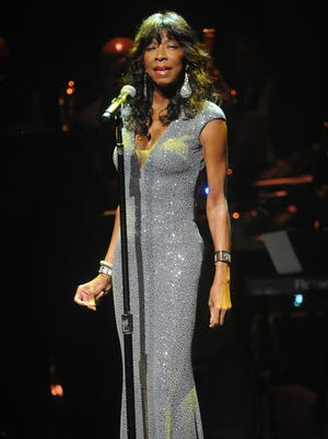 Natalie Cole performs at Apollo Theater Spring Gala  in June 2014 in New York.