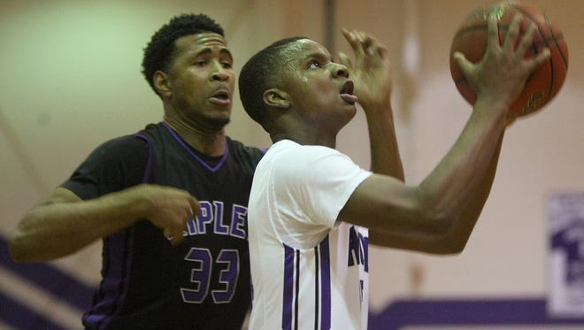 Haywood's Demarius Boyd (12) is one of the reasons his team is moving up in the rankings.