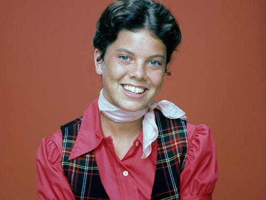 "Erin Moran during her young and (we hope) ""Happy Days."""