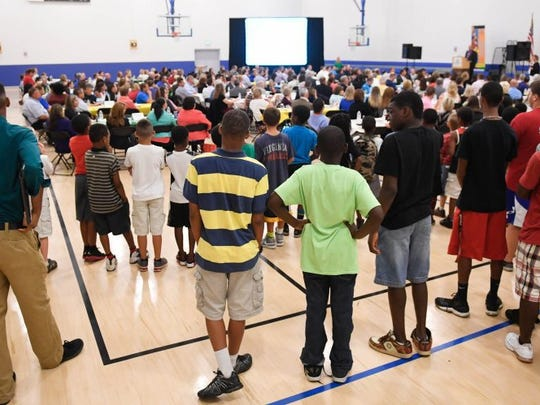 A full house at the Springleaf Financial Services Boys & Girls Club for the 9th Annual Boys & Girls Club of Evansville's Steak & Burger Youth of the Year Lunch Thursday, August 4, 2016.