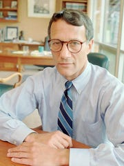 Thomas J. Capano poses for a portrait in his attorney's office in Wilmington, Delaware on Wednesday, July 31, 1996. Wilmington police consider Capano as a suspect in the disappearance of Anne Marie Fahey, the Governor's scheduling secretary, according to state prosecutors.