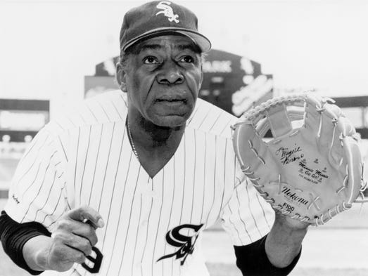 Minnie Minoso, an outfielder, was selected to seven