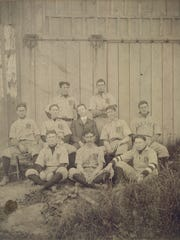 The Father Matthew Society baseball team as they appeared