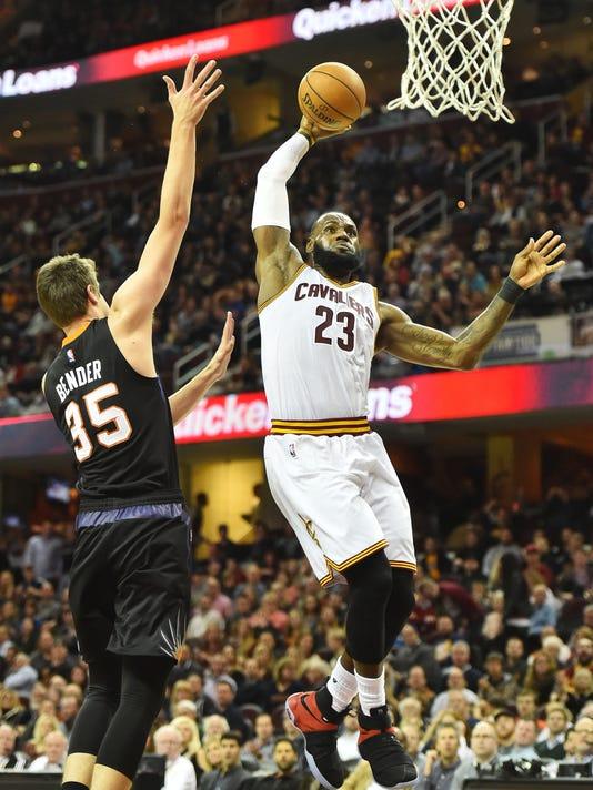 NBA: Phoenix Suns at Cleveland Cavaliers