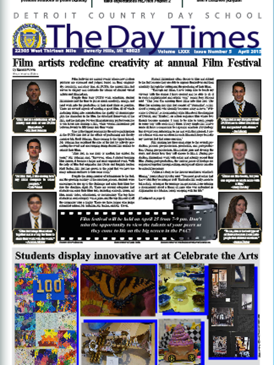 The Day Times April 2015