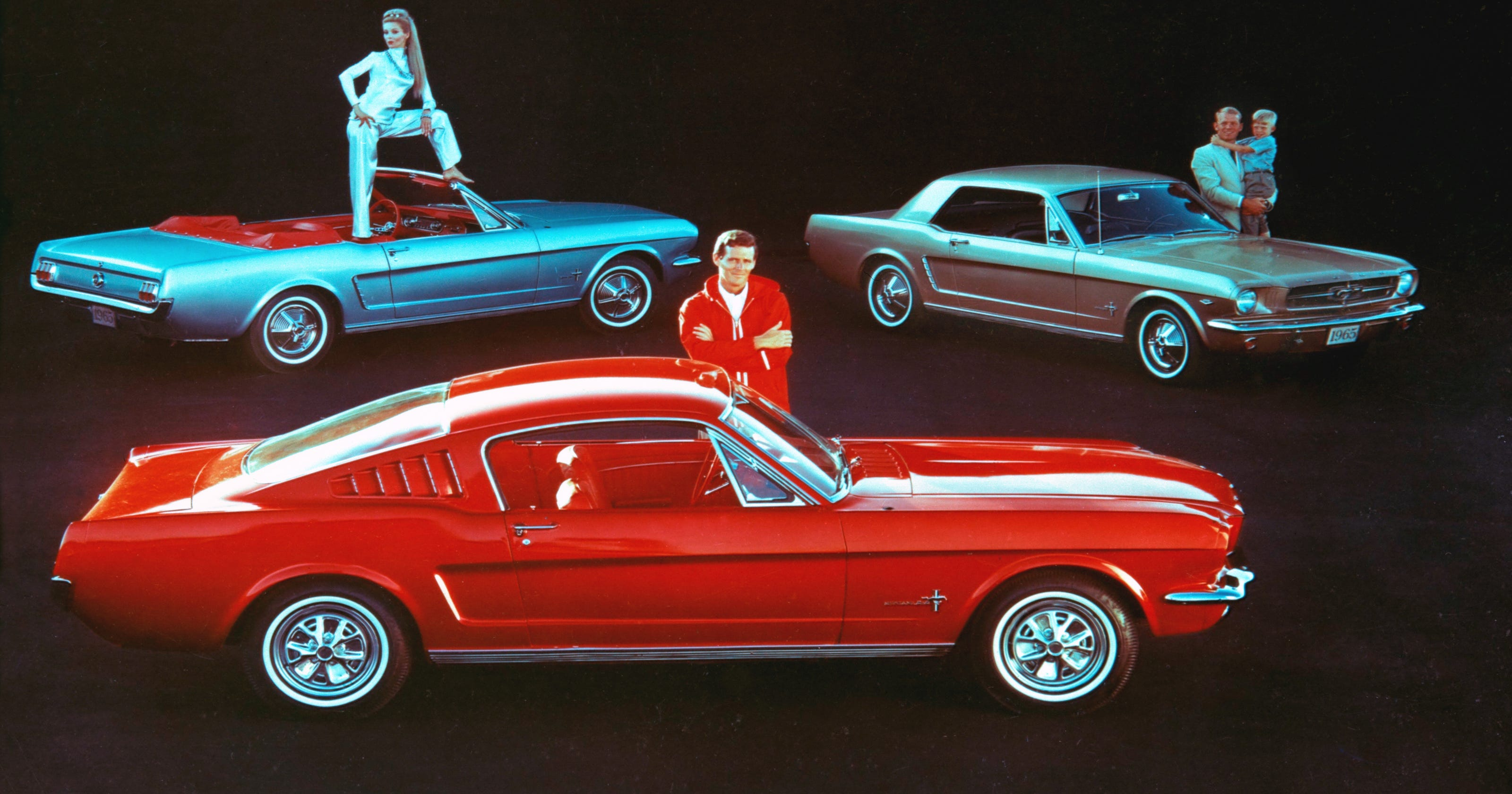 Photo Gallery Timeline 50 Years Of Ford Mustangs 1977 Camaro Engine Wiring Diagram Rear Body Taillight