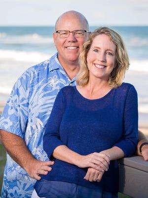 Coastal Cloud co-founders, Tim and Sara Hale.