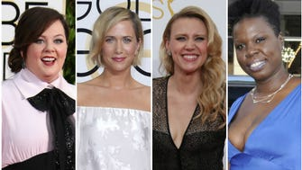 Paul Feig tweeted a photo of these four ladies.