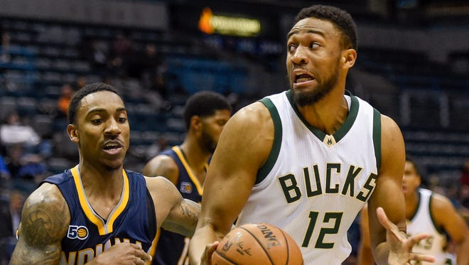 Milwaukee Bucks forward Jabari Parker (12) is one of the young stars of the team.