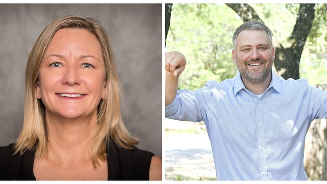 Kim McMath and John Troy are vying for the open Place 1 seat on the Eanes School Board.