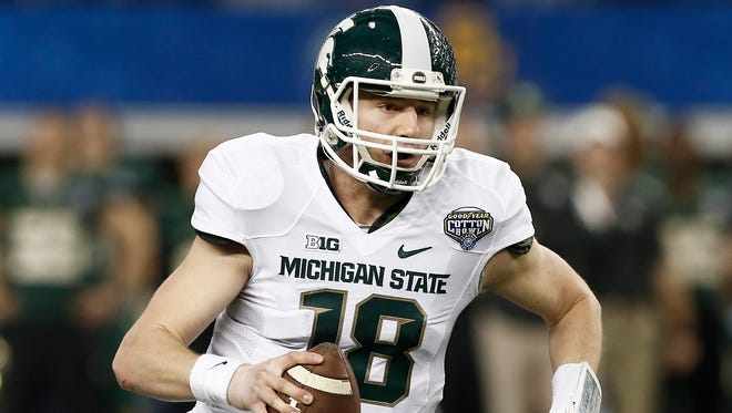 Michigan State quarterback Connor Cook.