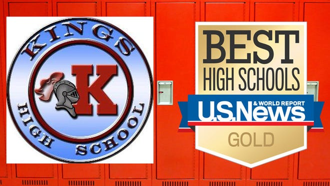 Kings High School has moved from Ohio's 23rd top school to the 15th in this year's ranking by U.S. News & World Report.