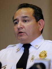 El Paso Fire Marshall Orlando Arriola gives an update