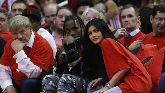 According to reports, TV personality/entrepreneur Kylie Jenner is expecting her first child with rapper Travis Scott.