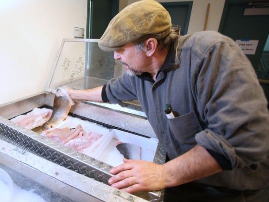 Paul Mendesohn of Pura Vida Fisheries of Hampton Bays