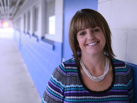 Denise Dufrene, principal Roger Corbett Elementary School.