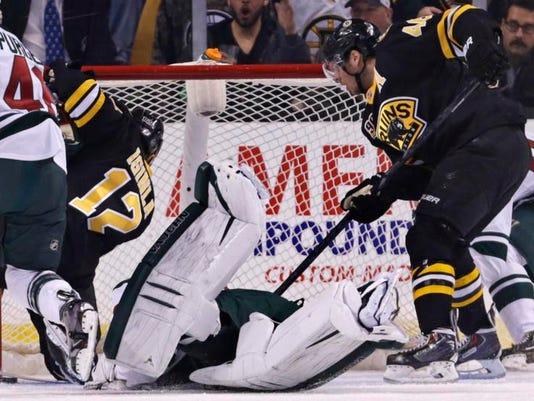 Wild Bruins Hockey