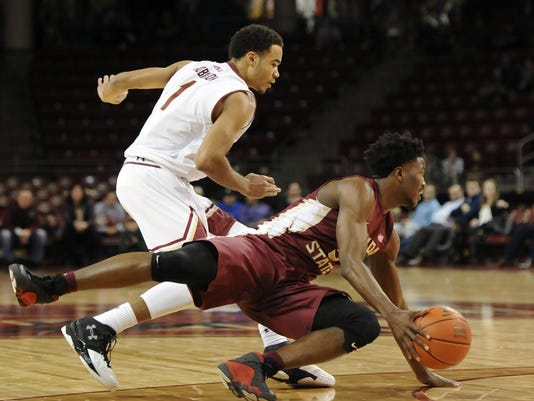 NCAA Basketball: Florida State at Boston College