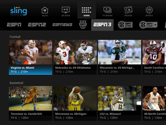An update to Sling TV includes integration of ESPN