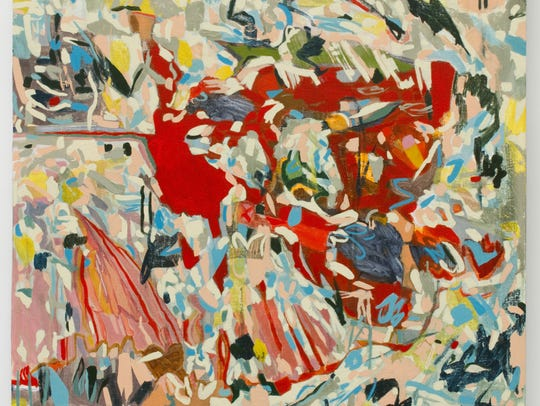 """Victoria Reynolds, """"Mystery Massacre,"""" 32 inches x"""