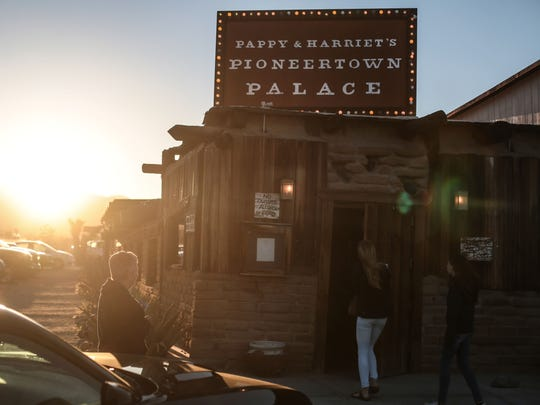 Pappy and Harriet's in Pioneertown, Calif.