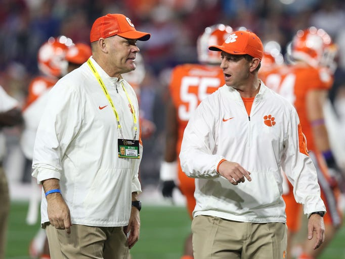 1. Clemson (2015 record: TK) The Tigers have a few
