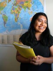 Diana Cruz, originally from Mexico, now living in Salt