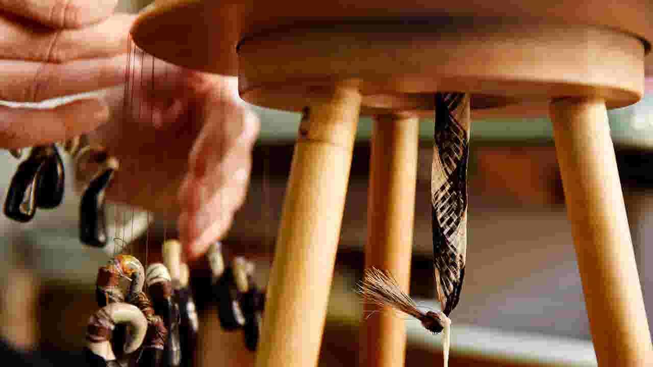 Watch: Glen Rock woman weaves Victorian-style hair jewelry