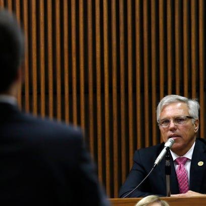 Dothan, Ala., mayor Mike Schmitz answers questions